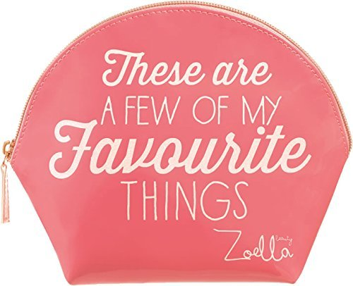 Zoella Pink Favourite Things Beauty Makeup Bag by Zoella