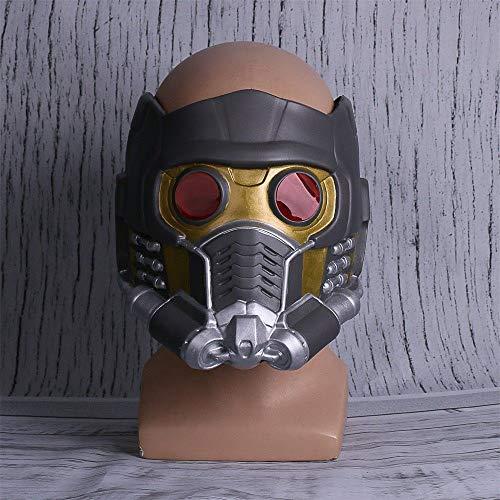 Charaktere Kostüm Wächter - VAWAA Film Wächter Der Galaxy Star Lord Infinity War Cosplay Kostüme Helm Latex Maske Prop Superhelden