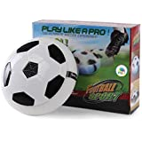 Funny Teddy Air Floating Football /Soccer Ball Disk - With LED Lights | Toy For Kids | Multi-Surface Hovering Gliding Like Air Hockey | Suitable For Both Indoor/Outdoor