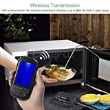 Best Digital Meat Thermometer Wirelesses - ELECTROPRIME Wireless LCD Digital Cooking Food Meat Thermometer Review