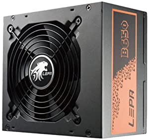 Lepa  B650 SA  Alimentation pour PC 650 W Noir