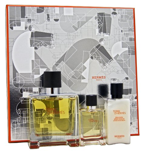 Terre d Hermes Eau de Parfum 75ml Eau de Parfum 125ml Stück 40ml Aftershave Balm