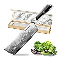 Sunnecko - 18cm Damastmesser Chinesisches