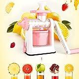 Küchen Werkzeuge Gadgets Gesunde Saft Früchte Gemüse Hand-Manuelle Saftpresse Handkurbel Reamer EIS-Maschine Zu Hause Verwenden Rosa