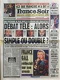 FRANCE SOIR [No 16399] du 26/04/1997 - L'AMIE SUEDOISE DE MITTERRAND SE CONFIE - CHRISTINA FORSNE - POLEMIQUE DANS LA CAMPAGNE DES LEGISLATIVES - FRANCE GALL - ARLETTE CHABOT A FRANCE SOIR - PACTE BANLIEUE / ERIC RAOULT SE DEFEND - LES SPORTS / PSG ET N'GOTTY