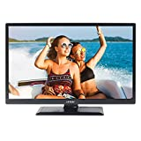 Linsar 24LED4000 24-Inch LED HD Ready 720p Smart TV/DVD Kit with Built-In Wi-Fi and Freeview HD/Play - Black