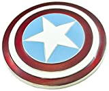 Original Captain America Enamel Belt Buckle, used for sale  Delivered anywhere in Ireland