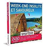 SMARTBOX - Coffret Cadeau Noël Couple - Idée cadeau original : Weekend insolite à deux pour une expérience inoubliable