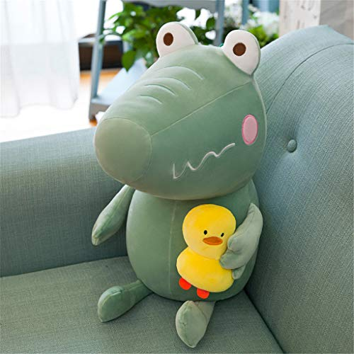 Miss Zhang's shop Giocattolo della Peluche, Cuscino Confortevole per La Bambola di Peluche, Giochi per Adulti per Bambini, Piccolo Maiale Verde 30Cm