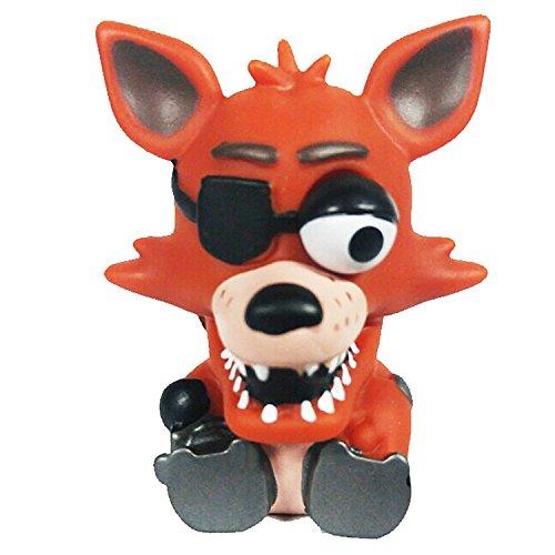 Funko cinque notti Freddy Foxy Spremere portachiavi figura