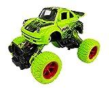 #6: Emob 4 Wheel Frog Graphic Printed Rock Crawler Dual Pull Back Metal Diecast Car Toy