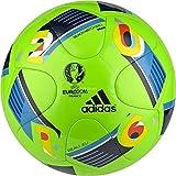 adidas Herren Ball EURO 2016 Praia, Solar Green/Bright Blue/Night Indigo, 5, AC5428