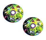 #6: Parteet Ben 10 Magical Unfold Flying Disk / Ring frisbee for Kids (Combo Pack of 2Pc)