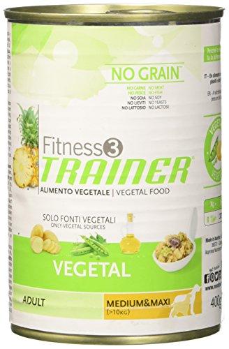 Trainer Alimenti cibo umido per Cani Vegetal No Grain Gr 400