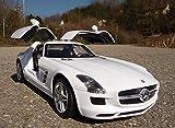 WIM-SHOP RC Mercedes Benz SLS AMG mit LICHT Länge 34cm Ferngesteuert 27MHz