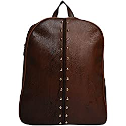 Vintage Stylish Ladies College Casual Backpacks handbags Dark Brown(bag 318)