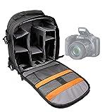 DURAGADGET Mochila Resistente Con Compartimentos Para Cámara Nikon D3300 Resistente Al Agua + Funda...