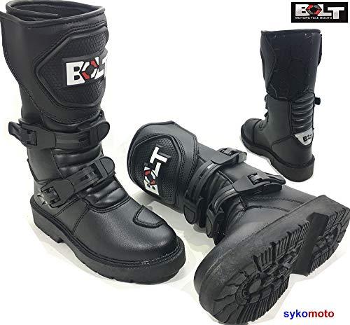 Kinder MX Off Road Stiefel Motorrad Wasserdicht Quad ATV Jungen & Mädchen Junior Rennsport-Stiefel, XX-Small ()