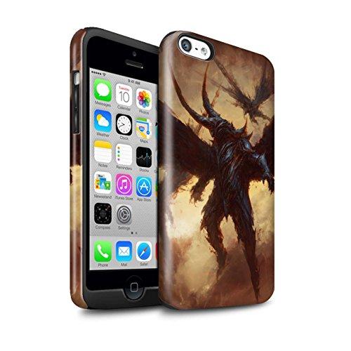Offiziell Chris Cold Hülle / Glanz Harten Stoßfest Case für Apple iPhone 5C / Pack 6pcs Muster / Wilden Kreaturen Kollektion Flügel von Nox