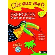 L'ILE AUX MOTS; français ; CE1 ; fichier d'exercices