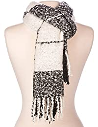 Noble Mount Mens Westminster Plaid Winter Scarf