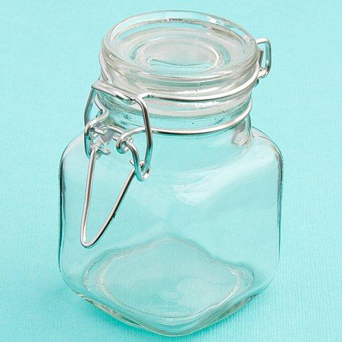 FavorOnline Apotheker Kleinen Glas Cookie und Treat Jar Gastgeschenken Farblos