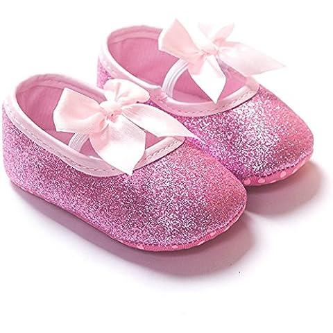 etrack-online bebé niñas princesa Bling Suave Suela Zapatos de Mary Jane