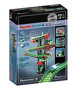 Fischertechnik Dynamic S - Juego Educativo y Divertido de Construcción de Circuitos de Canicas, 140 Piezas