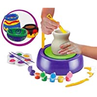 A3 Creations® Plastic Imaginative Arts Pottery Wheel Game, Multicolour