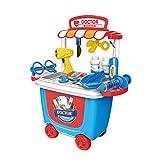 Vosarea Pretend Play Toys für Mädchen Jungen Kinder Kleinkinder pädagogisches Lernen Spielen Medical Kit Krankenschwester Spielzeug