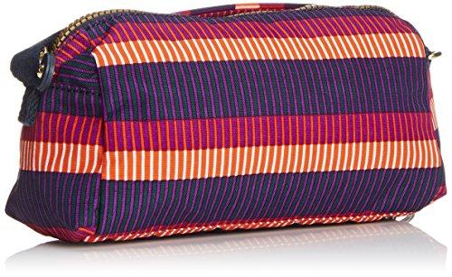 Kipling NEW ABELA BP K1236752B Damen Rucksackhandtaschen 25x14x8 cm (B x H x T), Mehrfarbig (Stripe Pr Bp) Mehrfarbig (Stripe Pr Bp)