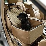 Pecomer Hund Autositzbezug 2 in1 Pet Bucket Cover Booster Sitz Rutschfest...