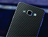 #9: GadGetsWrap Samsung Galaxy A7 Black Carbon Fibre Skin for BACK ONLY