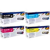 Original Brother TN241 Toner-Patronen Multipack TN 241BK / TN241C / TN241M / TN241Y