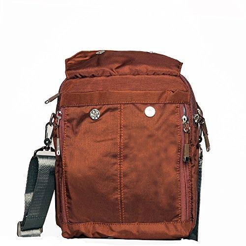 Freedom-vp Damen Herren Umhängetasche Designer Reisetasche Collegetasche Schultertasche Taschen für Arbeit Uni Weekender Freitag Handtaschen Messenger Bag Strandtasche Sporttasche Tasche Kaffee
