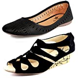 #5: Kanchan Women Wedges And Belly Pack