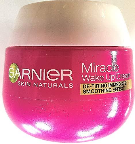 2 x Garnier Skin Natural Miracle Wake Up Cream Tagescreme Anti-Müde Haut / Anti-Age / je 50ml