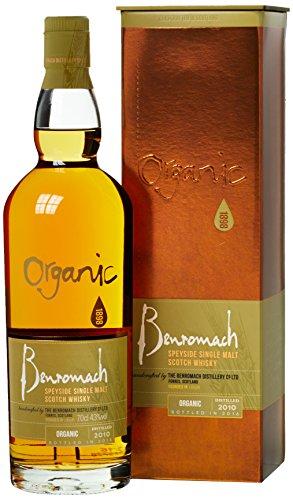 Benromach 2010 Organic Whisky mit Geschenkverpackung (1 x 0.7 l)