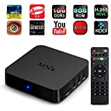 Bqeel MXQ Amlogic S805 Quad Core Android Smart 1080P HDMI libre MX M8 TV Streaming Box KODI XBMC 1 GB/8 GB