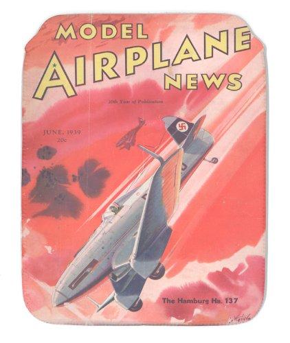 Modell Flugzeug News Juni 1939 CASE (Modell Wwii Flugzeuge)