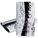 Pochette stilbag 'Mika' pour HTC One M8S–Design: Piano Musique