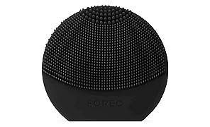 FOREO LUNA play plus spazzola viso portatile Midnight, Spazzola impermeabile con batteria sostituibile