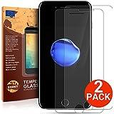 iPhone 7 Verre Trempé [2 Pièces] Protection écran de meilleure qualité de Zooky®