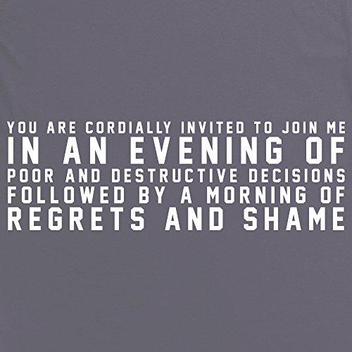 Cordially Invited T-Shirt, Herren Anthrazit