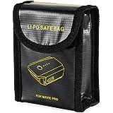 XCSOURCE Pochette Sac en Fibre Ignifuge Anti-Explosion Pochette de Protection Batterie Lipo pour DJI Mavic Pro RC502