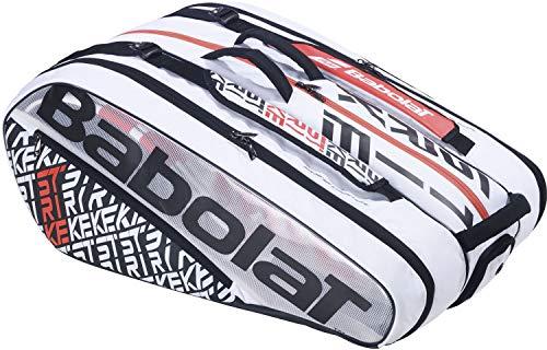 Babolat RH X 12 Pure Strike Klassische Sporttaschen, weiß, 10-12 Tennisschläger