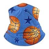 Aeykis Maschera Tubolare Fascia per Capelli Stella e Basket Maschera da Sci Freddo Maschera per Scaldacollo Cappuccio in Pile Cappelli Invernali