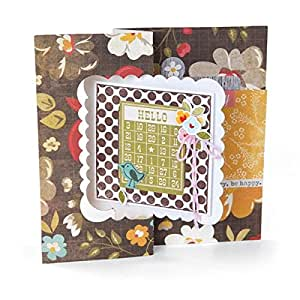 Sizzix stanzer framelits mit clear stempel for you - Amazon stempel ...