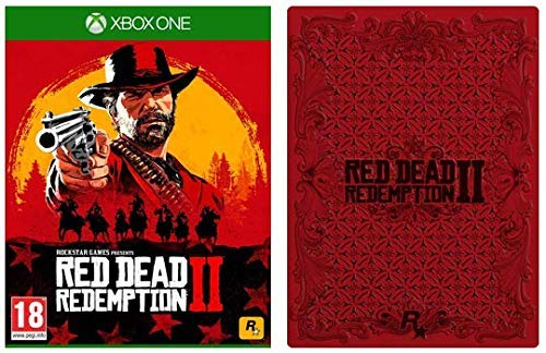 Red Dead Redemption 2 with Collectible SteelBook (Exclusive to Amazon.co.uk) - Xbox One [Importación inglesa]