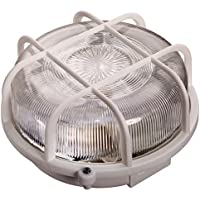 as - Schwabe 66002 - foco redondo 75W, color: blanco